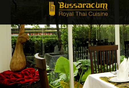 Thai Select Restaurant Bussaracum Royal Thai Cuisine Bangkok